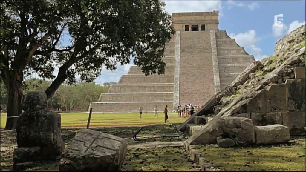 Documentaire Embarquement immédiat – Le Yucatán, l'héritage des Mayas