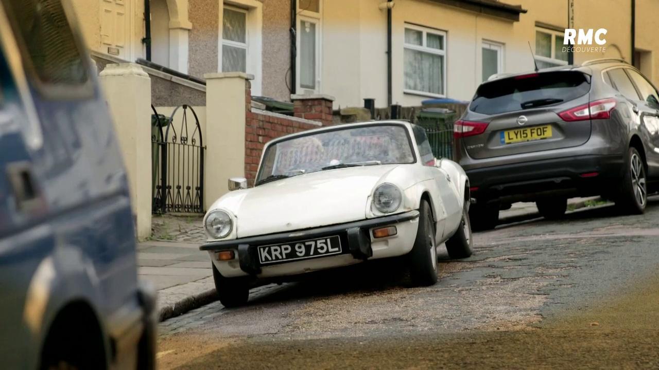 Documentaire Flipping Bangers : voitures à tout prix -Triumph Spitfire