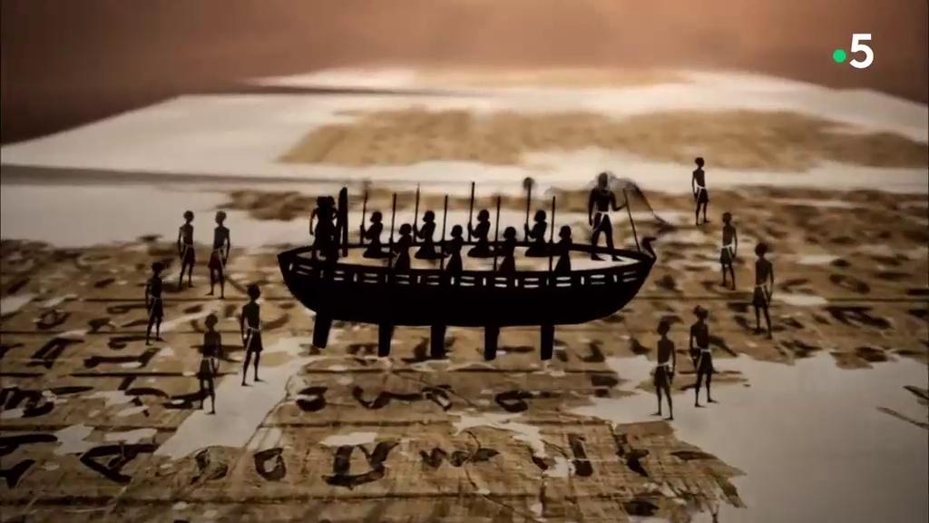 Documentaire Les secrets du papyrus de Merer – Les bateaux du Pharaon