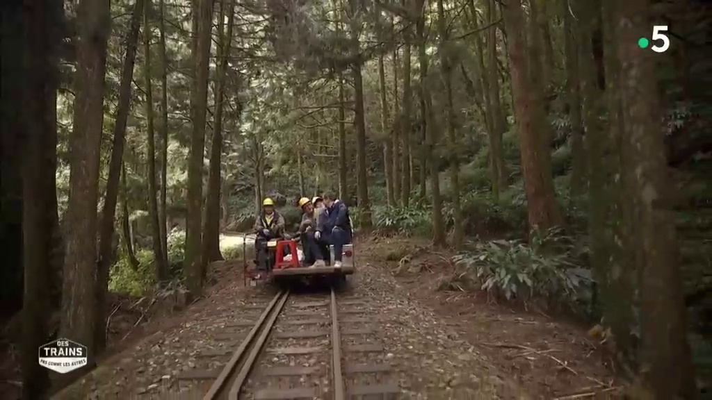 Documentaire Des trains pas comme les autres – Taïwan
