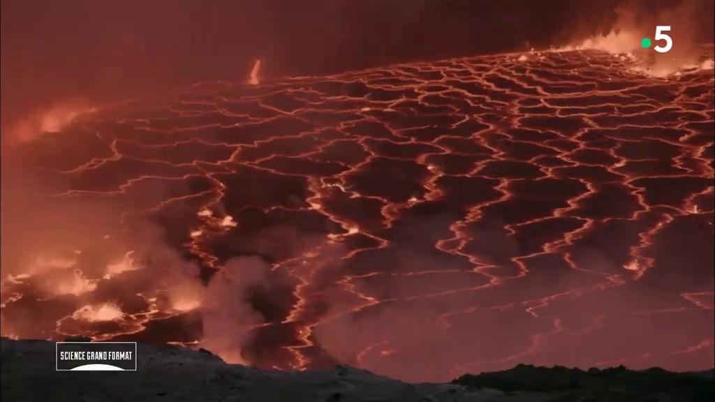 Documentaire Nyiragongo, voyage au coeur du volcan