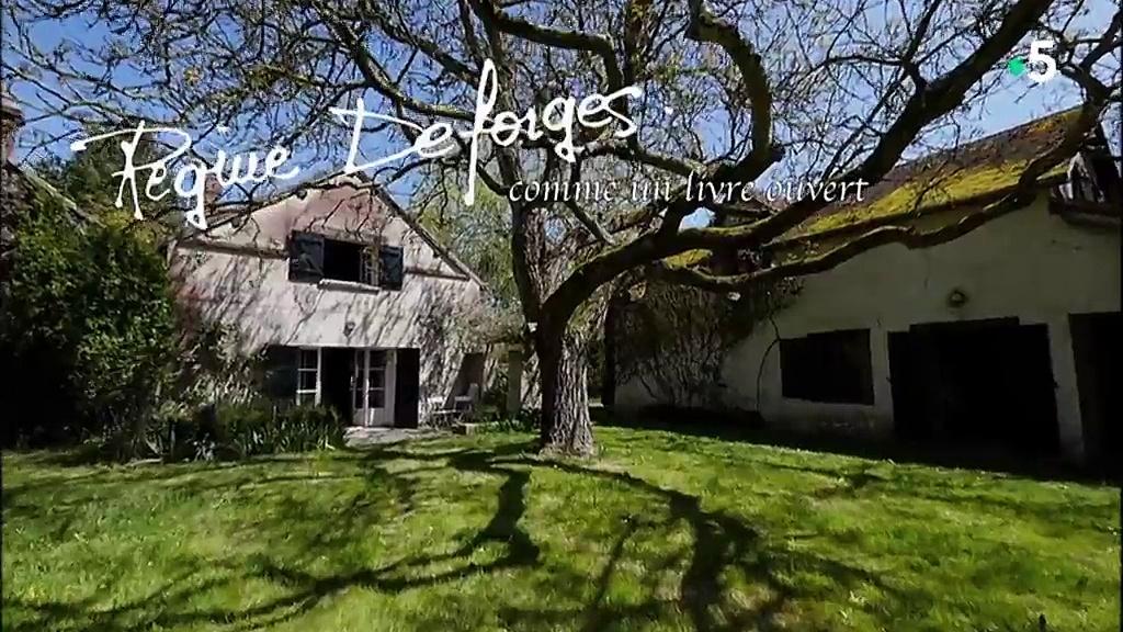 Documentaire Une maison, un artiste – Régine Deforges, comme un livre ouvert