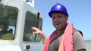 Documentaire Entre terre et mer – 65 000 tonnes sur les mers