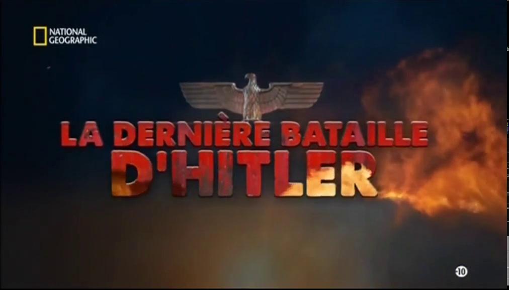 Documentaire La dernière bataille d'Hitler – Les foudres des Panzer