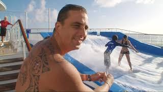 Documentaire A bord de l'Oasis of the Seas