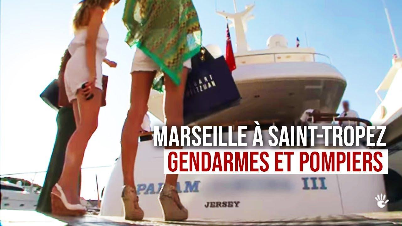 Documentaire De Marseille à Saint-Tropez : gendarmes et pompiers veillent sur vous