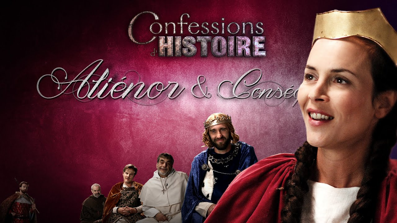 Documentaire Confessions d'Histoire – La 2ème croisade, Aliénor d'Aquitaine, Louis VII