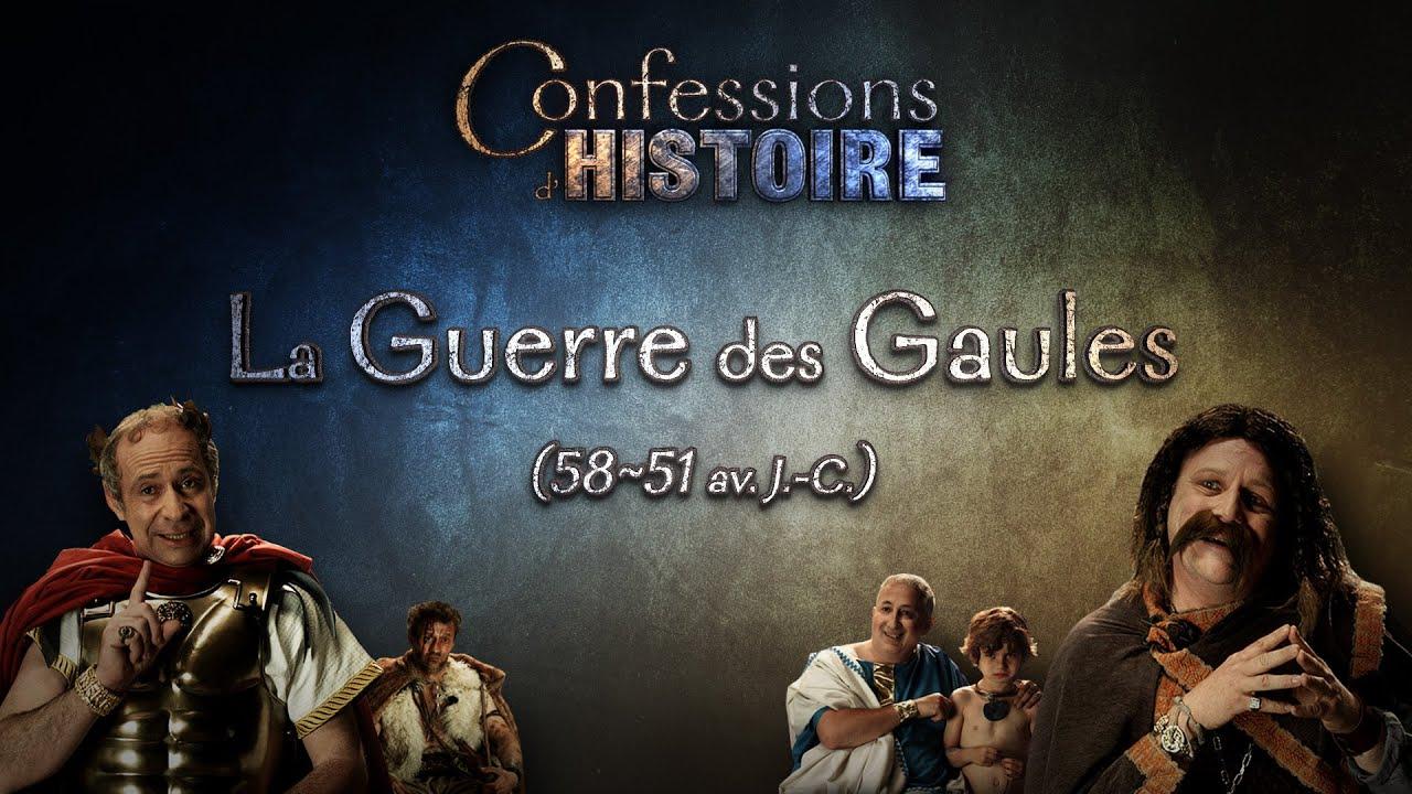 Documentaire Confessions d'Histoire – La Guerre des Gaules, Vercingétorix & Jules César