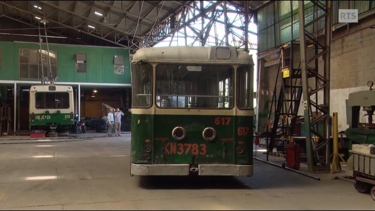 Documentaire Le paradis des trolleys Suisses ou quand les vieux bus Suisses ressuscitent à Valparaiso