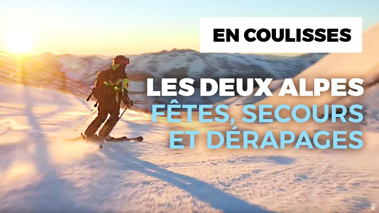 Documentaire Les Deux Alpes : fêtes, secours et gros dérapages