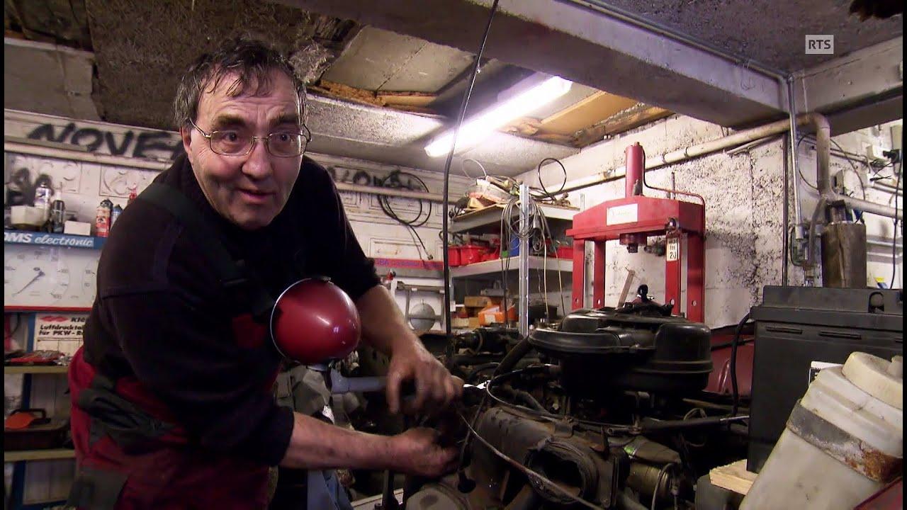 Documentaire Bel Hubert, garagiste-chanteur dans son «Joli Foutoir»