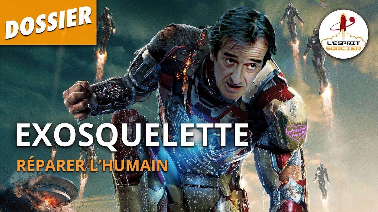 Documentaire Exosquelette : comment réparer l'humain ?