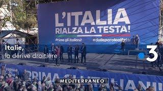 Documentaire Italie, la dérive droitière