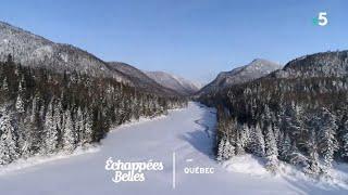 Documentaire Échappées belles – Le Québec sous la neige