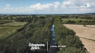 Documentaire Échappées belles – Navigation sur le canal du Midi