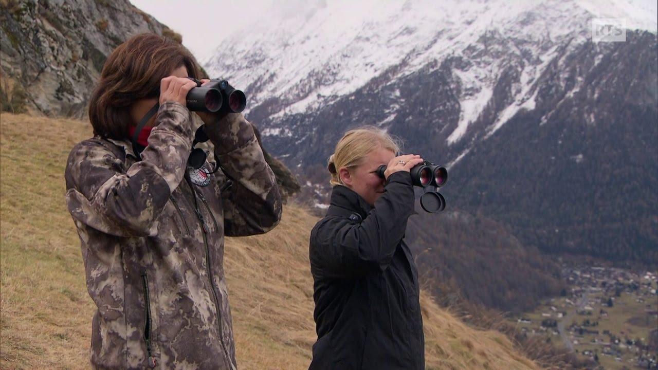 Documentaire Mesdames les garde-chasse ou  la rencontre de deux représentantes d'un métier très masculin