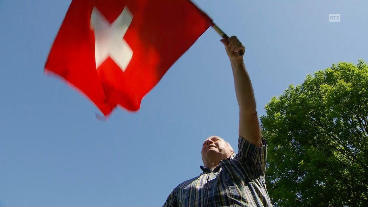 Documentaire Un air de drapeaux ou le lancer de drapeaux, un rituel bien helvétique
