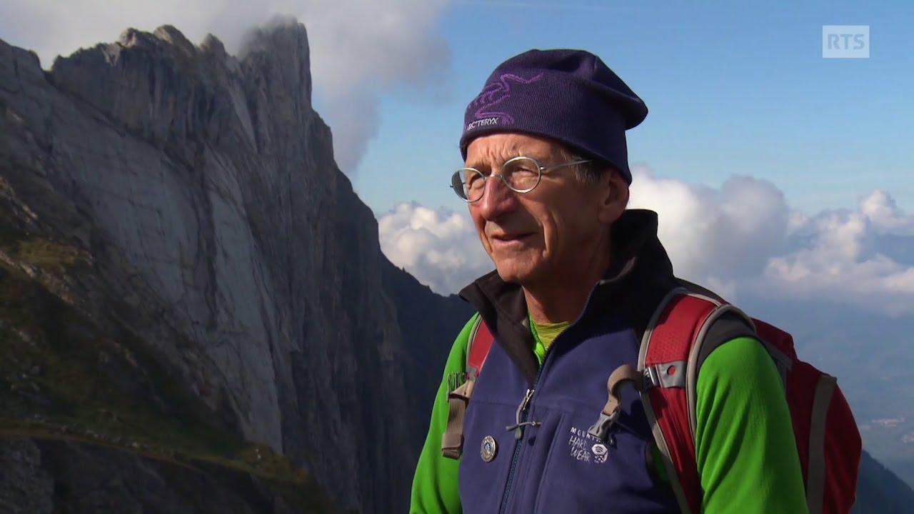 Documentaire Une ligne dans la montagne ou la passion dévorante d'un guide pour la verticalité