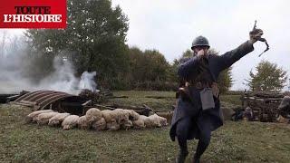 Documentaire La bataille de Verdun : reconstitution