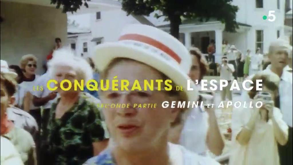 Documentaire Les conquérants de l'espace – 02 – Gemini et Apollo