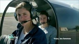 Documentaire Mariée, deux enfants et pilote d'hélicoptère