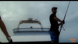 Documentaire La dernière reine de corail, pêche de la carangue au lancer