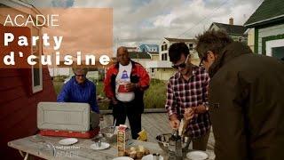 Documentaire Acadie – Party d'cuisine