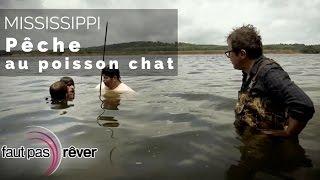 Documentaire Mississippi, les légendes du fleuve – pêche au poisson chat