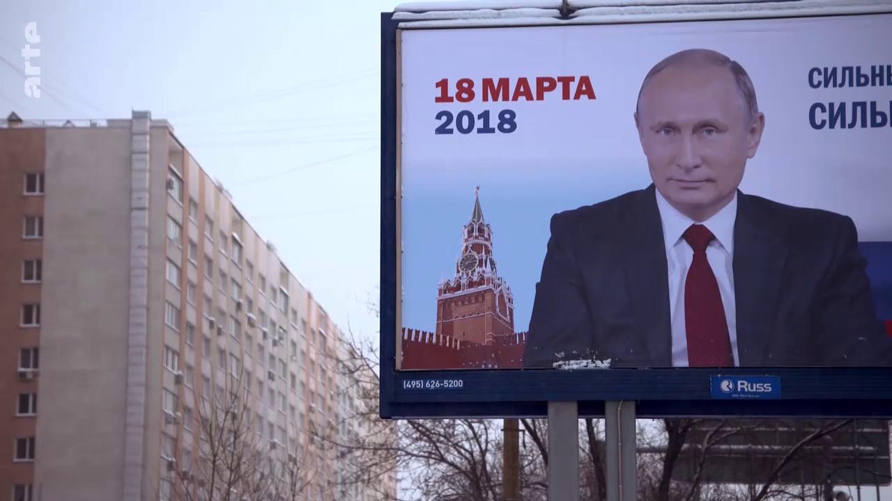 Documentaire Russie: génération Poutine