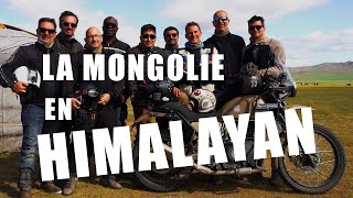 Documentaire La Mongolie en Royal Enfield Himalayan