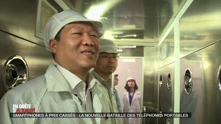 Documentaire Smartphones à prix cassés : la nouvelle la nouvelle bataille des téléphones portable