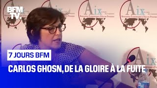 Documentaire Carlos Ghosn, de la gloire à la fuite