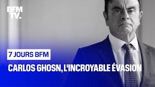 Documentaire Carlos Ghosn, l'incroyable évasion