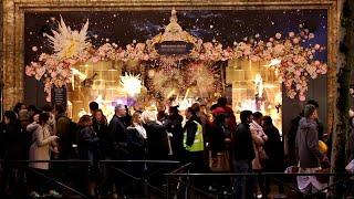Documentaire Féerie de Noël, les plus belles vitrines