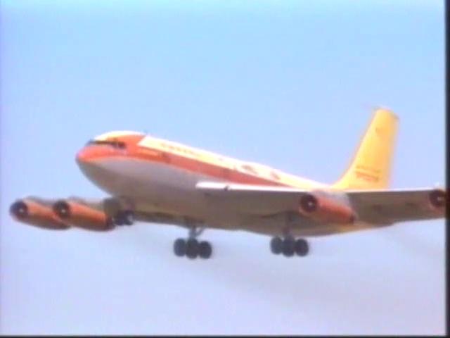 Documentaire Les ailes de légende – Boeing 707 C135