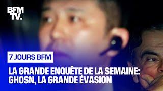 Documentaire Ghosn, la grande évasion