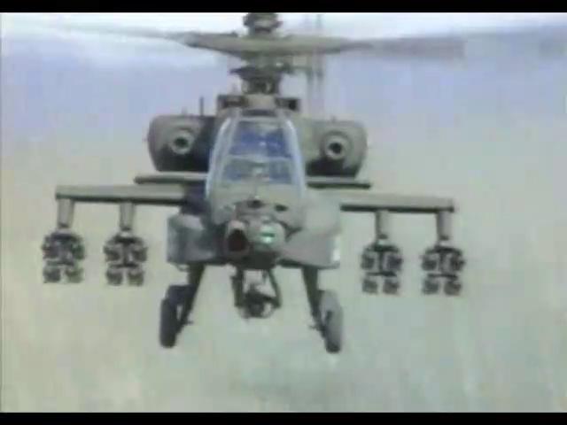 Les ailes de légende - Boeing H64 Apache, un hélico dans la tempête