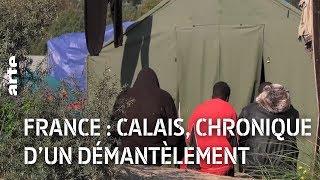 Documentaire Calais, chronique d'un démantèlement