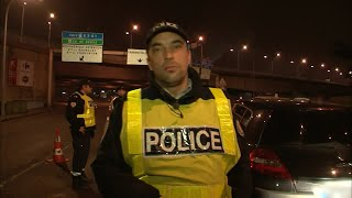 Documentaire Chauffards, vitesse et carambolages : les policiers du périph'