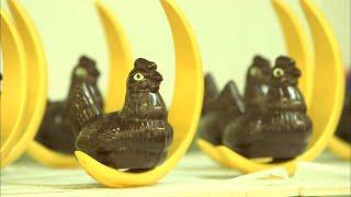Documentaire Pâques : les plus folles créations en chocolat