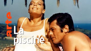 Documentaire Alain Delon et Romy Schneider dans la piscine | Invitation au voyage