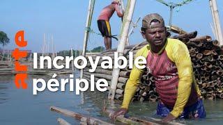Documentaire Bangladesh, l'épopée des radeaux de bambou (1/2)