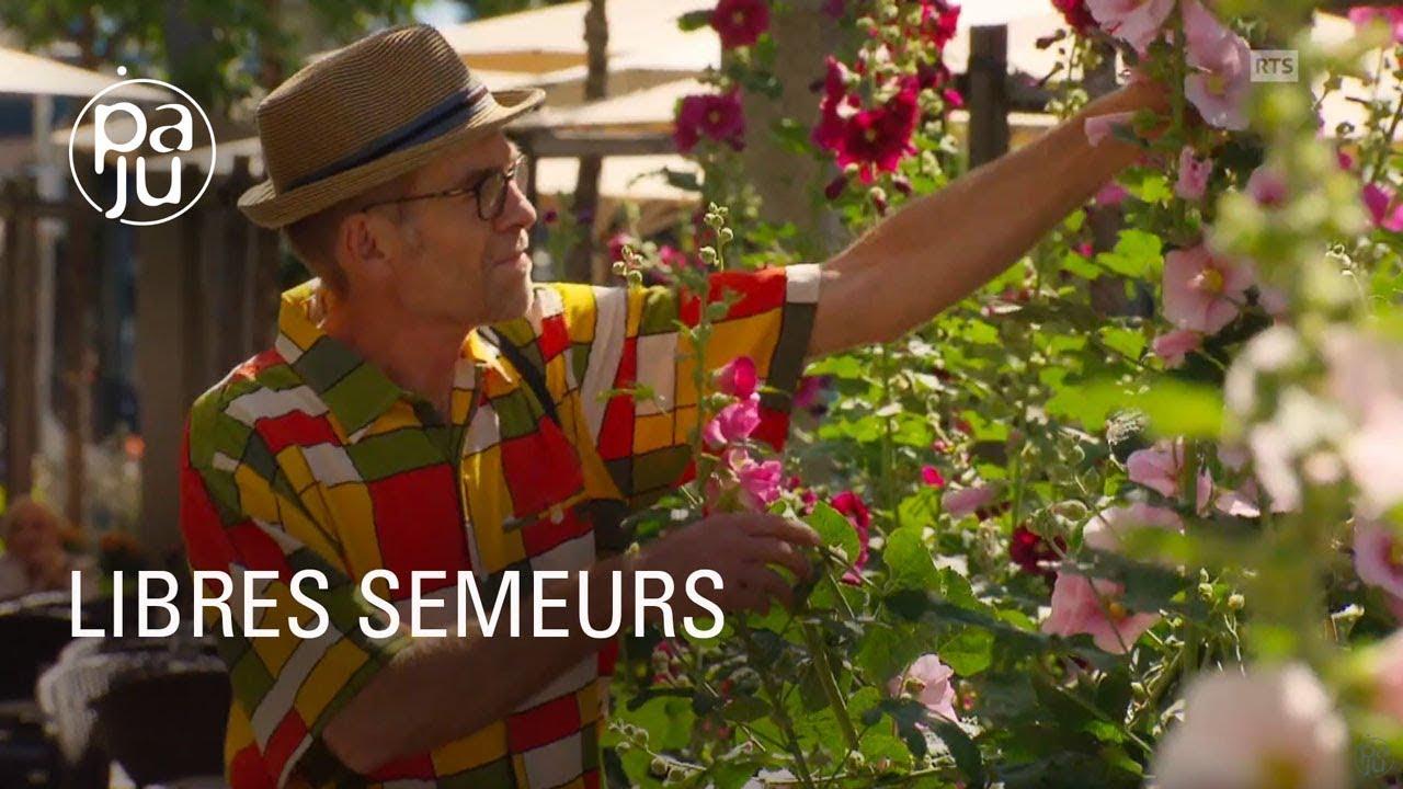 Documentaire Ils fleurissent le béton des villes en semant des graines