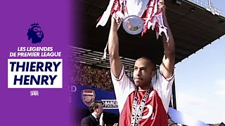 Documentaire Les légendes de Premier League – Thierry Henry