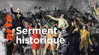 20 juin 1789, le serment du Jeu de paume