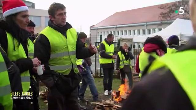 Documentaire Gilets jaunes la fabrique de la révolte – partie 2