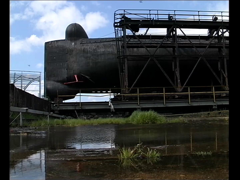 Sortie du sous-marin Flore S645