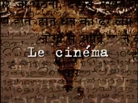 Documentaire Inde – Le cinéma
