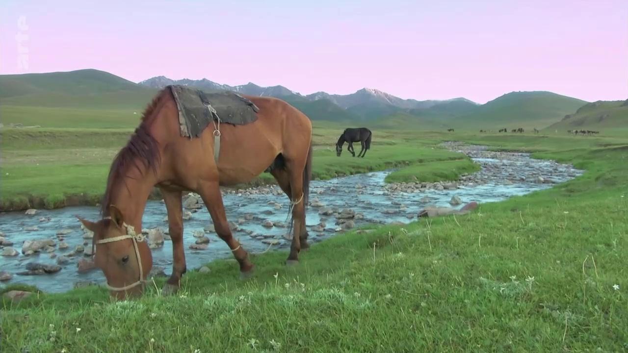 Documentaire Kirghizistan, vivre sur les Monts Célestes