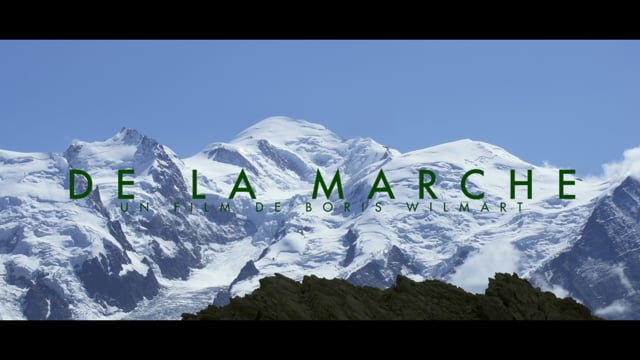 Documentaire De la marche